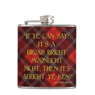 It's Alricht, Ye Ken! - Sir Harry Lauder Flasks