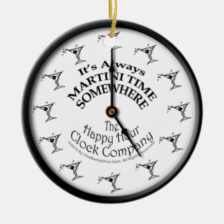 IT'S ALWAYS MARTINI TIME SOMEWHERE ORNAMENT