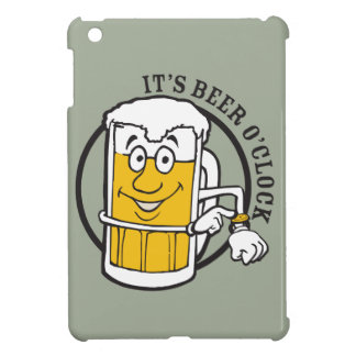 It's always time for Beer- Beer O'clock iPad Mini Cases