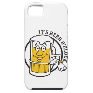It's always time for Beer- Beer O'clock iPhone 5 Cover