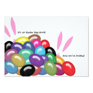 """It's an Easter Egg Hunt and You're Invited Invite 5"""" X 7"""" Invitation Card"""