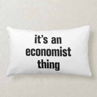 its an economist thing cushion