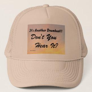 IT'S ANOTHER DRUMBEAT TRUCKER HAT