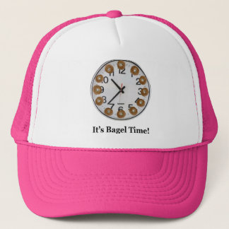 It's Bagel Time! Trucker Hat