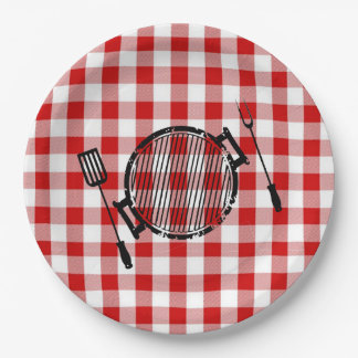 It's BBQ Time! Father's Day Party Paper Plates