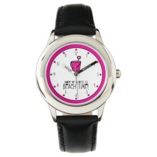 It's beach time! Pink Pail Watches