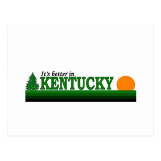 Its Better in Kentucky Postcard