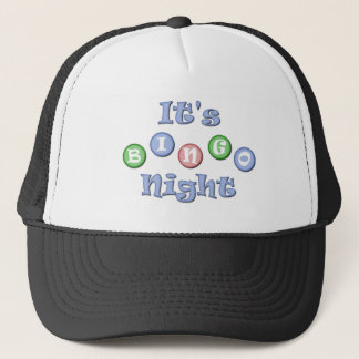 It's Bingo Night Trucker Hat