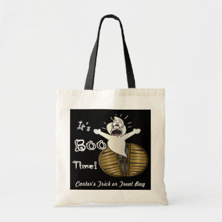 It's Boo Time Trick or Treat Bag