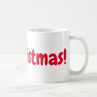 It's Christmas mug