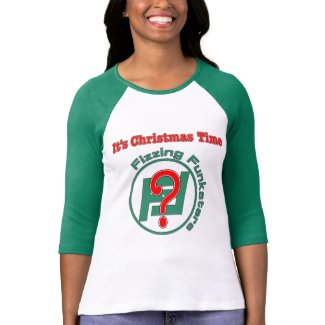 It's Christmas Time? Green Sleeves T-Shirt