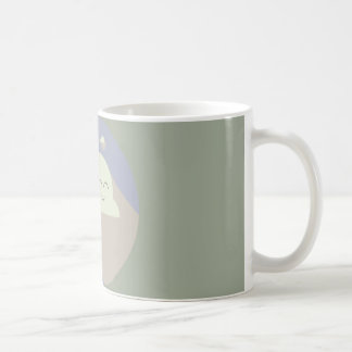It's cloudy out there, love it! coffee mug