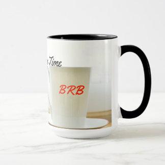 It's Coffee Time Two-tone Mug