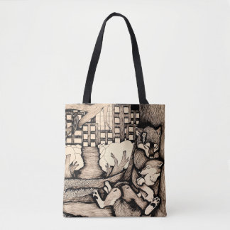 """It's cold out there"" Tote Bag"