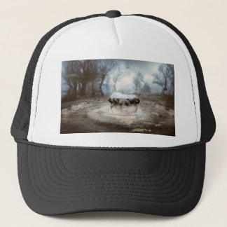 its coming trucker hat