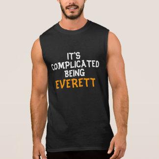 It's complicated being Everett Sleeveless Shirt