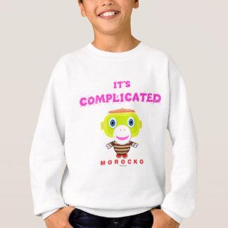 Its Complicated-Cute Monkey-Morocko Sweatshirt