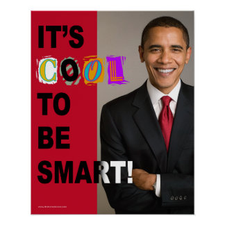 It's Cool To Be Smart! Poster (large)