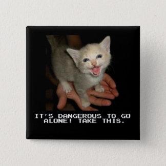 It's Dangerous To Go Alone Button