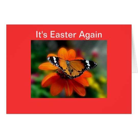It's Easter Again Card
