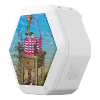 It's easter time, white boombot rex bluetooth speaker