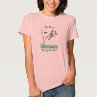 It's Easy Being Green Frog Women's Shirt