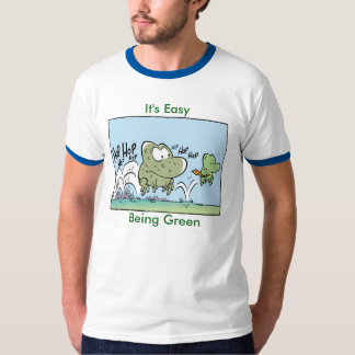 It's Easy Being Green Funny Frog Shirt