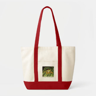 It's easy being green! tote bag