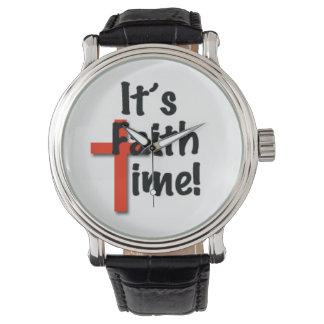 It's Faith Time Watch