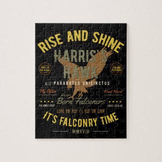 It's Falconry Time! Harris's Hawk Jigsaw Puzzle