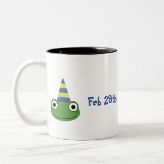 It's finally My Birthday Two-Tone Coffee Mug
