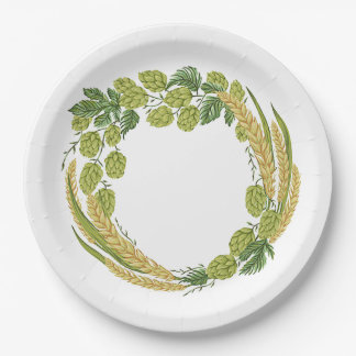 It's Finally Time! Oktoberfest Party Paper Plates