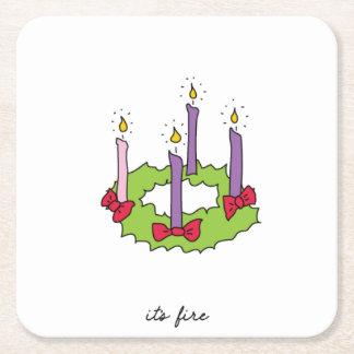 It's Fire Christmas Coasters