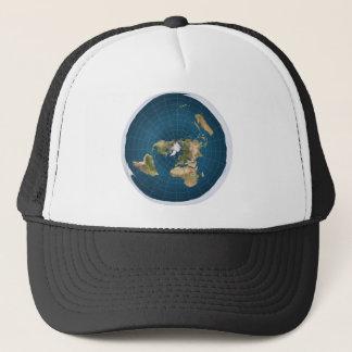 It's Flat.  No, Really. Trucker Hat