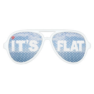 """IT'S FLAT"" SUNGLASSES 