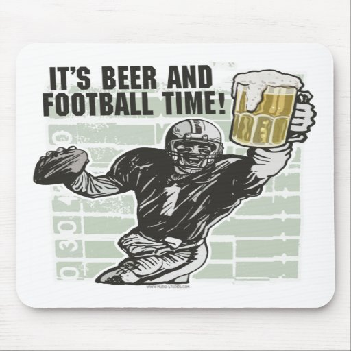 It's Football Time T-shirts and Gifts Mousepads
