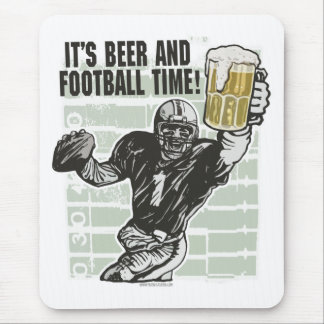 It's Football Time T-shirts and Gifts Mouse Pad