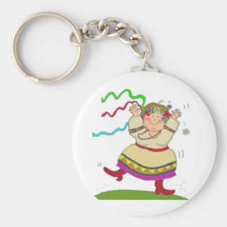 It's Fun to Be Ukrainian Key Ring