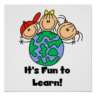 It's Fun to Learn Poster