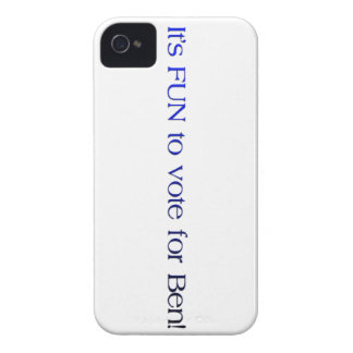"""""""Its fun to vote for Ben"""" iPhone case"""