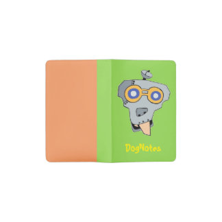 It's funny and funky pocket moleskine notebook
