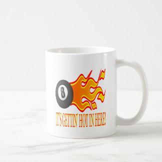 Its Gettin Hot In Here Basic White Mug