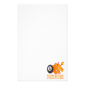 Its Gettin Hot In Here Customized Stationery