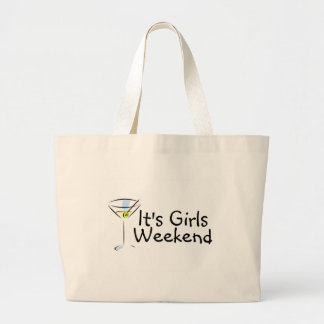 Its Girls Weekend Large Tote Bag