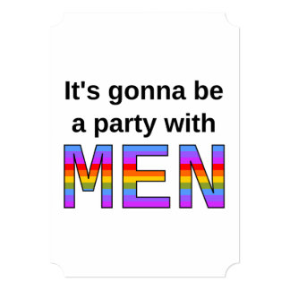 It's gonna be a party with MEN Card