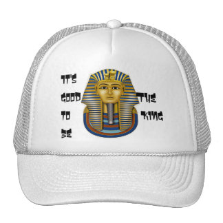 It's Good to be The King, King Tut Mask Cap