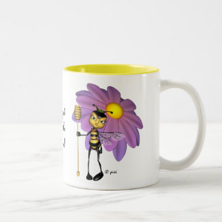 """It's good to be the Queen"" - Bee Mug"