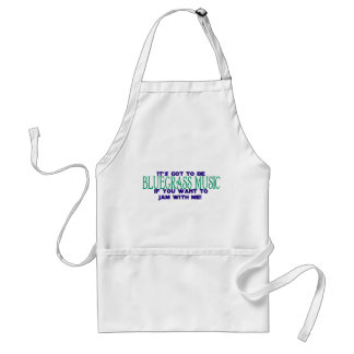 It's Got to Be Bluegrass Music Apron
