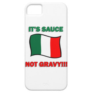 It's Gravy not sauce funny Italian Italy pizza tom iPhone 5 Covers