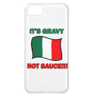 It's Gravy not sauce funny Italian Italy pizza tom iPhone 5C Case